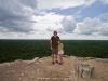 Sabrina and I atop Nohoch Mul