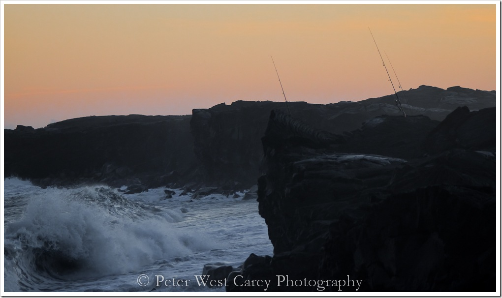 Fishing Big Waves