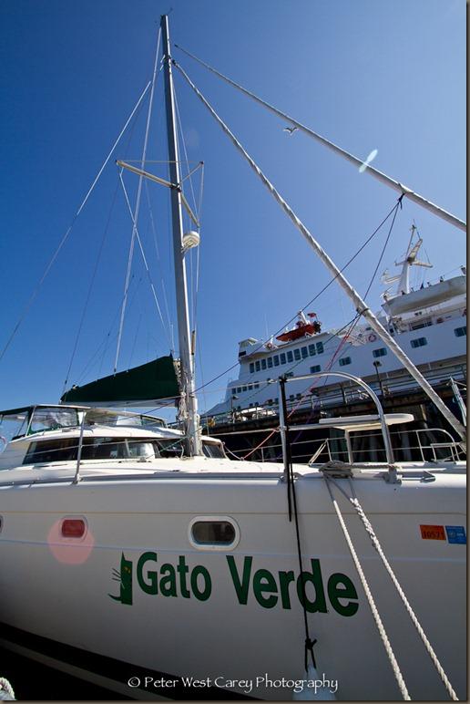 Gato Verde At Dock In Bellingham