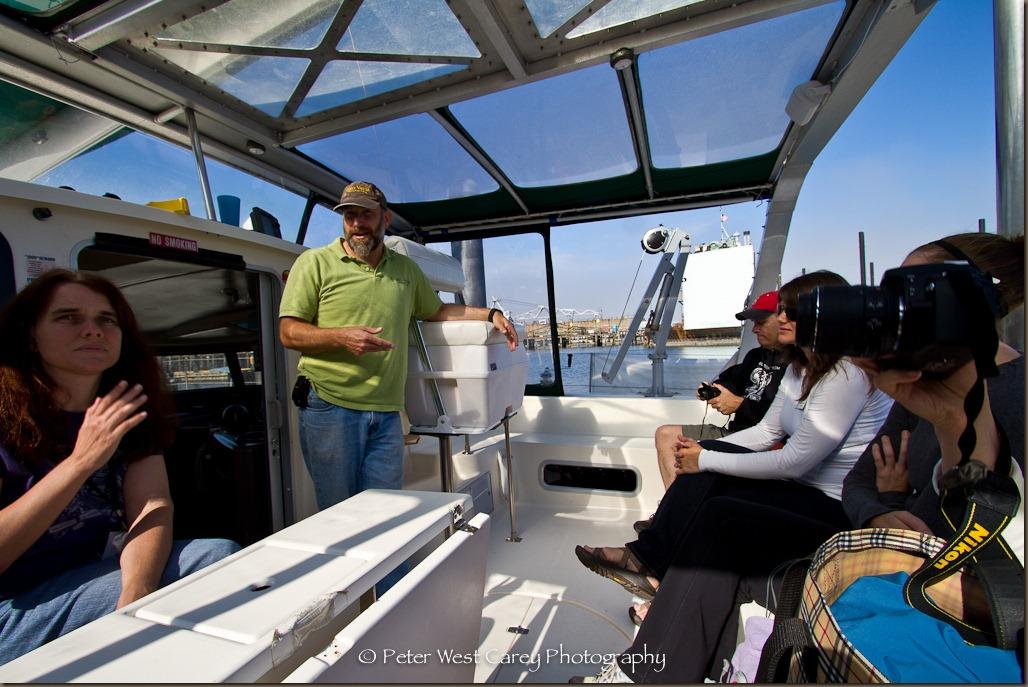 Caockpit of the Gato Verde