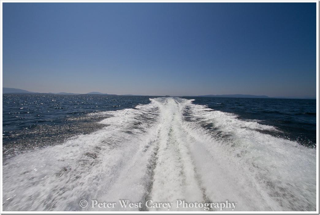 boat-wake-san-juan-islands