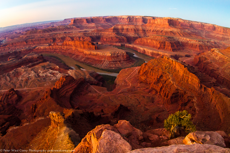 The Edge Of Canyonlands National Park