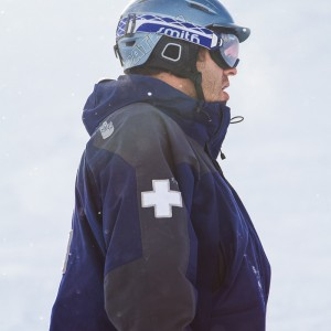 Aaron Taylor of the Mission Ridge Ski Patrol
