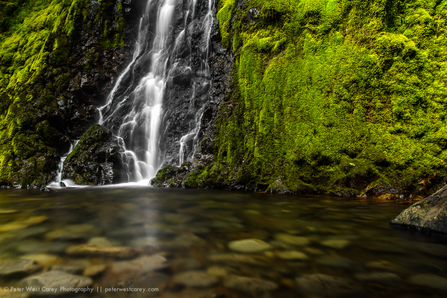Cabin Creek Falls, Oregon, USA