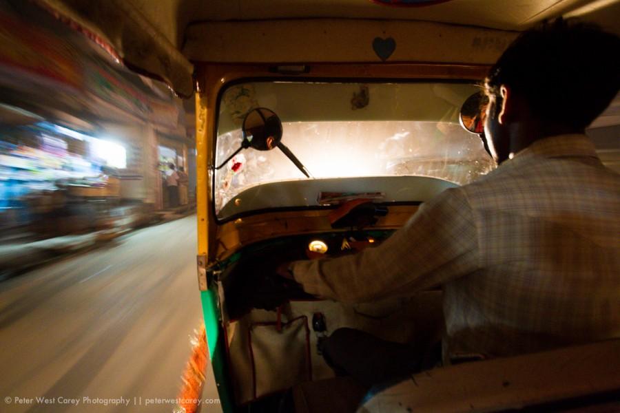 Through the streets of Varanasi