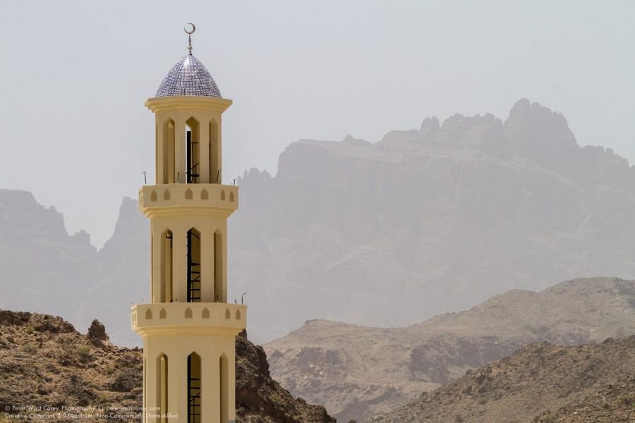Desert Minaret, Oman
