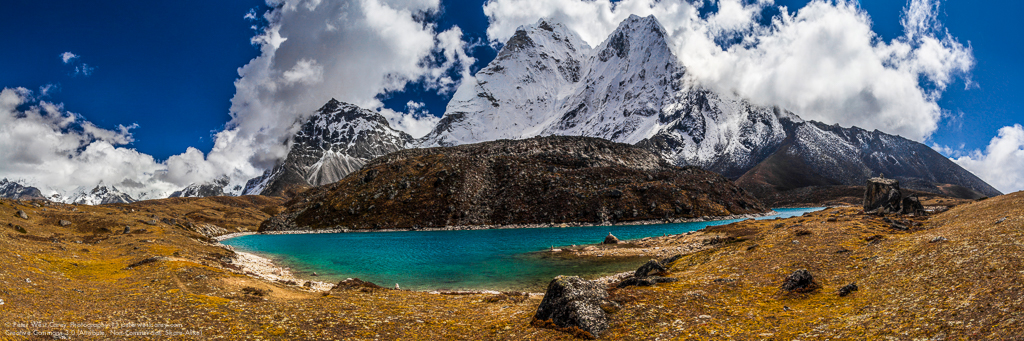 Peter-West-Carey-Ama Dablam and lake